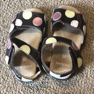 Toddler PediPed Leather Sandals